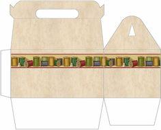 Thread Gable Gift Box