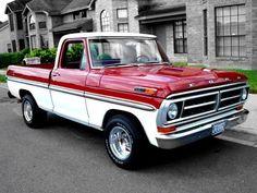 Show off your Ford trucks - Forums Custom Ford Trucks, Classic Ford Trucks, Ford Pickup Trucks, Chevrolet Trucks, Chevrolet Impala, Lifted Trucks, 1957 Chevrolet, 4x4 Trucks, F100 Truck