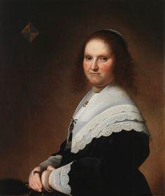 1645 Jan Cornelisz. Verspronck Anna van Schoonhoven