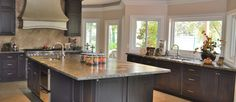 Gorgeous Granite Kitchen http://www.artisticstoneworksinc.net/