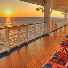 Relaxation at sea....
