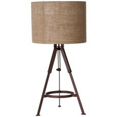 Horden Tripod Table Lamp   Freedom Furniture and Homewares $99