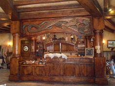 The bar at the Green Dragon - Hobbiton, near Matamata, New Zealand - New Zealand - WorldNomads.com