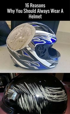 The helmet is really a life saver. This piece of equipment is essential if you drive motorcycles..
