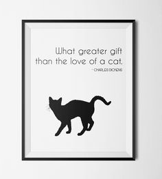 #Cats are the best http://etsy.me/2kVUAbD  #Cats #Gift #Idea #Etsy #Print #WallArt #Digital #Download #Printable #Quote #Inspirational #Motivational #Cheap #EtsyFinds #EtsyForAll #Stampe #Prints #Decor #EtsyHunter #etsyseller #art #black #instalove #instalike #cats #pets #cute #kitten #dickens Wonderful Wall Art Designs to Brighten your Life!