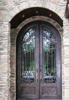 Medina-186 - Wrought Iron Doors, Windows, Gates, & Railings from Cantera Doors
