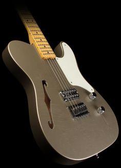 Fender Custom Shop La Cabronita Thinline Telecaster in Shoreline Gold
