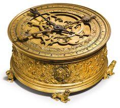 renaissance astronomical table clock | object | sotheby's n09461lot89f7cen