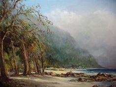 Gabriel de Jongh - Otter Trail Africa Painting, South African Artists, Artist Art, Love Art, Wonders Of The World, Gabriel, Artworks, Landscapes, Sketches
