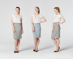 Pencil Skirt Sewing Pattern by TeachMeFashion on Etsy