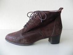 Nalini vintage oxford granny veter laarzen (1630) #vintage #boots