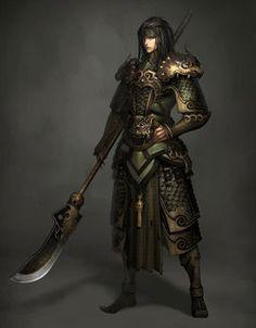 Elven Sennin Blademaster Concept
