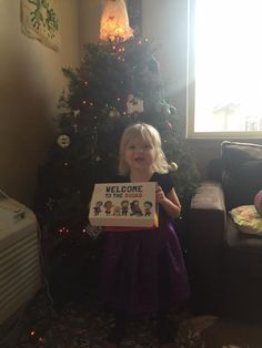 Still feeling the Christmas spirit over here along with Super Brynleigh, one of our newest TinySuperheroes     http://qoo.ly/d6kzg