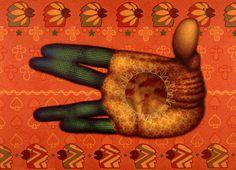 """""""Mano d'Orange"""" (2003), ~Ed Paschke - NYTimes.com"""