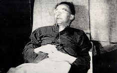 A photograph taken of Heinrich Himmler minutes after he committed suicide will be sold at auction next month.