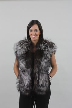 Discover Fashion Oriented Fur Vests with Focus on Style and Quality , Made to Flatter and Stand out of the Ordinary . 60 Years Of Tradition In Fur Making! Real Fur Vest, Mink Fur, The Ordinary, Sculpting, Fur Coat, Fur Vests, Jackets, Furs, Outfits