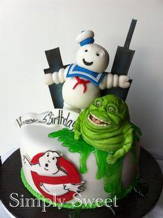 Ghostbusters cake www.facebook.com/SimplySweet.CustomCakes1
