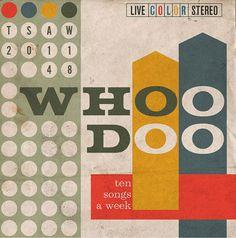 vintage design sleeve for ten songs a week