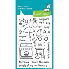 Lawn Fawn Clear Stamp Set - Plus One