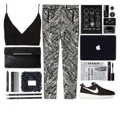 """""""Untitled #445"""" by sydneys98 ❤ liked on Polyvore featuring Topshop, Sephora Collection, CASSETTE, Fornasetti, Koh Gen Do, NARS Cosmetics, NIKE, BCBGMAXAZRIA, INIKA and Chanel"""