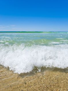 Crystal Clear Blue Sea at Surfers Paradise, Gold Coast, Queensland, Australia, Pacific Photographic Print at AllPosters.com
