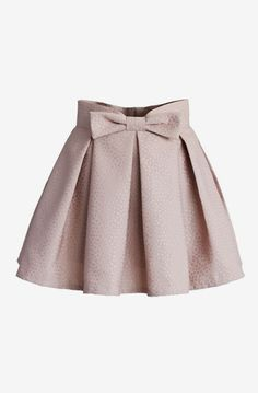 Sweet Your Heart Bowknot Pleated Mini Skirt in Pink - Skirt - Bottoms - Retro, Indie and Unique Fashion Brown Pleated Skirt, Pleated Shorts, Pleated Skirt Outfit Short, Chicwish Skirt, Kids Outfits, Cute Outfits, Baby Girl Dresses, Mode Style, Kind Mode