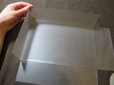 I definitely want to try this for my soap molds.  Now to find some of this thin plastic.