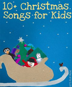 Christmas Songs for Kids - Action songs, Nativity songs, crafts and puppets! Something for everyone!