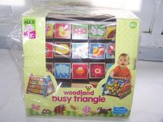 New Woodland Busy Triangle Alex Jr. Wee Wonder Activity Toy 10 + Months  #AlexJr