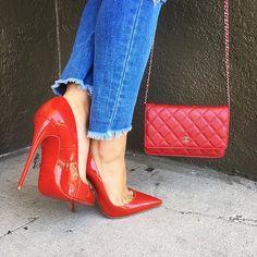 a34c0764d2f Shop all Chanel handbags  amp  Christian Louboutin heels