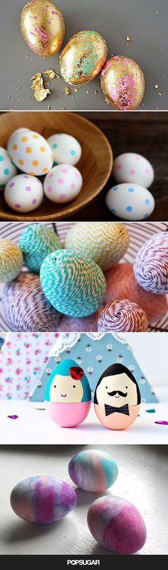 Because dying Easter eggs is so last year!