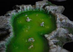 More Realistic Terrain – Toxic Slime Pits Tutorial Part 2 | Wargaming Hub