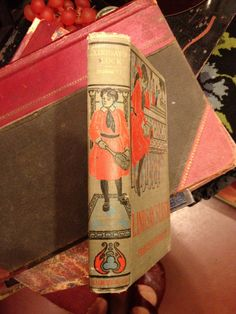 "Beautiful edition of Francis Hodgson Burnett's second book, ""Lindsay's Luck"" (spine)"