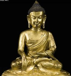 Earth touching posture (Bhumisparsha mudra) Buddhist Meditation, Buddhist Art, Buddhist Teachings, Tibetan Buddhism, Sanskrit, Namaste, Buddha, Earth, Statue