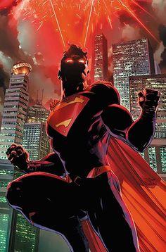 Superman Textless Variant Cover by Tony S. Superman Comic, Artwork Superman, Superman Wallpaper, Evil Superman, Superman Images, Superman Stuff, Marvel Dc Comics, Comics Anime, Dc Comics Art