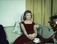som Eva, i Skovridergården fra 1957.