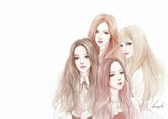 Jisso-BLACKPINK-Fanart I grouped the above questions about the pencil drawing that I received and tried to describe at length with … Kpop Girl Groups, Korean Girl Groups, Kpop Girls, K Pop, Square Two, Jung Kook, Best Friend Drawings, Kpop Drawings, Poster S