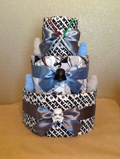 3Tier Star Wars Diaper Cake