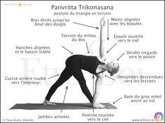 yoga - posture - parivritta trikonasana - indications - etre soi