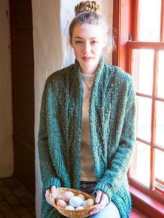 NobleKnits.com - Berroco Inca Tweed Champlain Cardigan Knitting Pattern 367 PDF, $7.95 (http://www.nobleknits.com/berroco-inca-tweed-champlain-cardigan-knitting-pattern-367-pdf/)