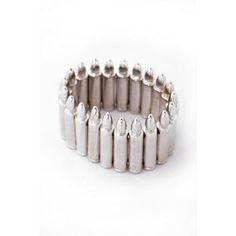 Silver Bullet Bracelet