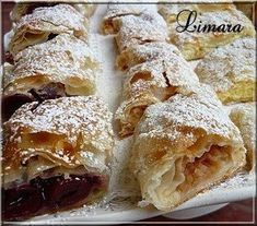 Recipes, bakery, everything related to cooking. Hungarian Desserts, Hungarian Cake, Hungarian Cuisine, Hungarian Recipes, Cream Pie Recipes, Cookie Recipes, Snack Recipes, Torte Cake, Sweet Cookies