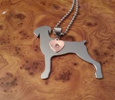 Doberman Pendant, Natural Eared Doberman, Doberman Charm, Doberman Necklace, FREE SHIPPING! #Bracelet #Family