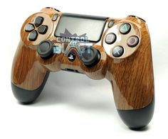 Custom Wood Grain PS4 Controller UK - Dualshock 4