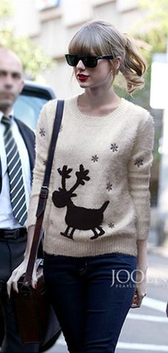 Reindeer Sweater :)