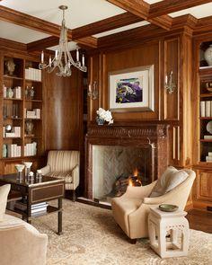 Fireplace, Laura Lee Clark Interior Design, Inc.