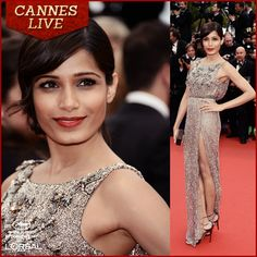 Classy & Elegant! Freida Pinto knows her Red Carpet fashion!