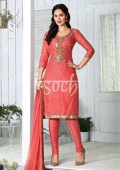 594f86804a Classy White & Blue Churidar Salwar Suit Dress Material-2011 | Dress ...