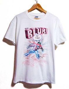 【Blur】ブラー「My Turn」Tシャツ(W) - *Union Jack mania*ユニオンジャックマニア*