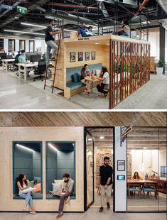 "Airbnb Offices Designed with Core Identity and ""Belong Anywh.- Airbnb Offices Designed with Core Identity and ""Belong Anywhere"" Philosophy – Gurgaon – The Architects Diary - Open Space Office, Office Space Design, Modern Office Design, Office Workspace, Office Designs, Warehouse Office Space, Office Spaces, Work Spaces, We Work Office"